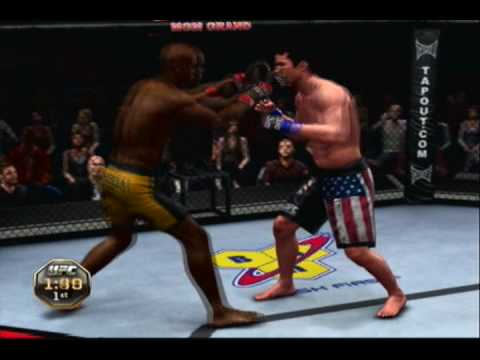 UFC 2010 Undisputed Gameplay- Anderson Silva vs Chael Sonnen UFC 117