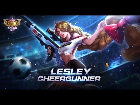 Mobile Legends: Bang Bang! | Lesley New Skin | Cheergunner