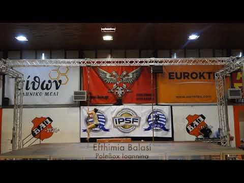 Euthimia Balasi - Hellenic Pole Sport Federation