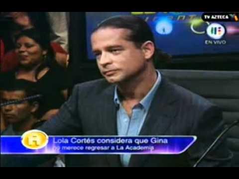 Gina Quiere Regresar A La Academia Bicentenario (17/10/10)
