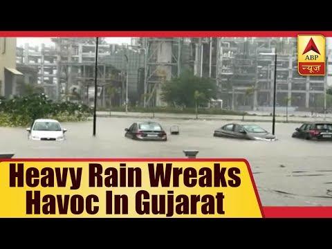 Heavy Rain Wreaks Havoc In Gujarat  ABP