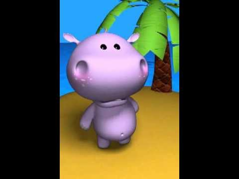 Talking Hippo sings the Collingwood Football club theme song!