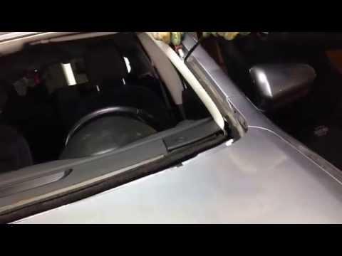 Замена лобового стекла Nissan
