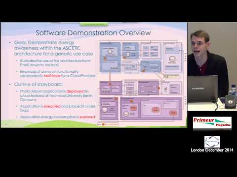 Presentation & Demonstration - ASCETiC Architecture Year 1 Implementation - Django Armstrong