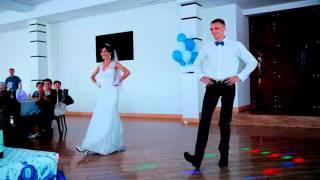 Хорошо поставленный свадебный танец (классика + русский народный)