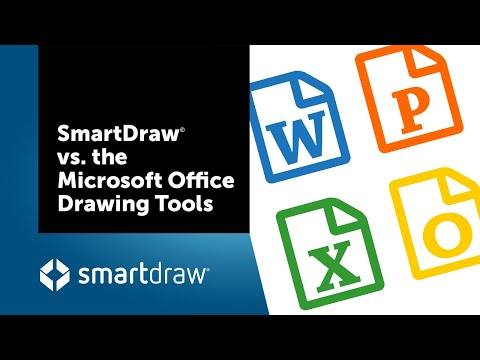 SmartDraw vs the Microsoft Office Drawing Tools - YouTube