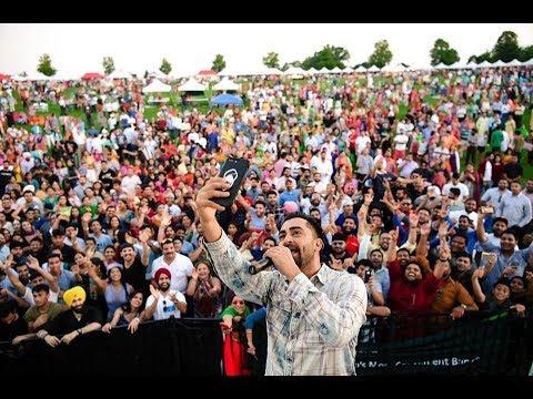 Sharry Maan New Song Transportiye 2017 Live Brampton