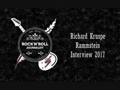 Richard Kruspe Rammstein Interview 2017