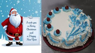 Last Minute Christmas Cake Decoration | Easy Christmas Cake Decorating Ideas | Merry Christmas