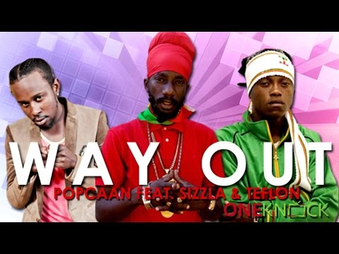 ( 2016 Way Out Video) Sizzla Popcaan & Teflon