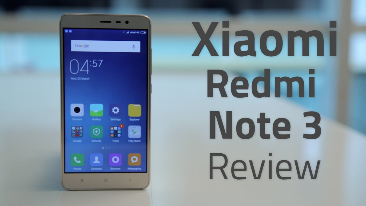 Xiaomi Redmi Note 3 Review In 90 Seconds Youtube