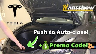 Tesla Model 3 Power Frunk Automation 🔥 Easy How To: Install Help ✅ Hansshow