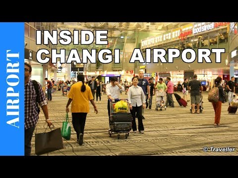 Inside Singapore Changi Airport - World´s Best Airport - Our