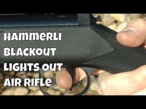REVIEW: Hammerli Air Rifle 800 Blackout Air Rifle - 50 Yard
