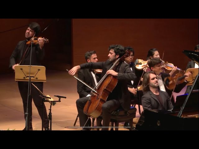 Brahms/Dreznin: Fantasia Hungariana for Piano Trio and String Orchestra
