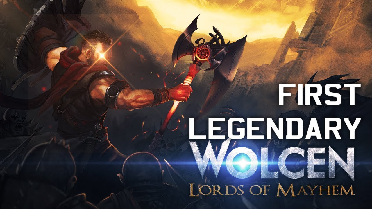 🔴WOLCEN: LORDS OF MAYHEM 🔴 My Very First LEGENDARY