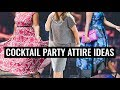 Cocktail Party Attire Ideas