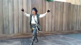 海賊体操レッスン。 i phone撮影です。