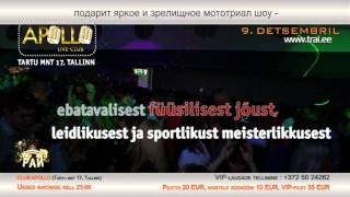 TANTSUPARADIIS 35 (Танцевальный Pай 35) - 9.detsembril 2011 Club APOLLO reklaam