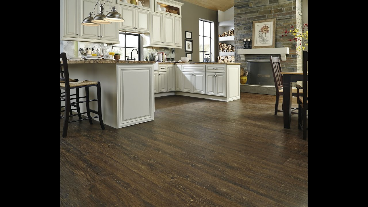 Expert Advice: Easy Click Vinyl Wood Plank Flooring | Lumber Liquidators    YouTube