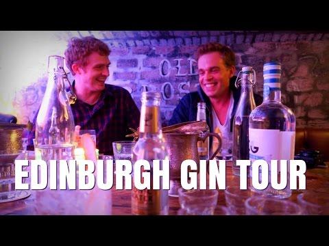 Visiting Edinburgh Gin Distillery Tour in Scotland