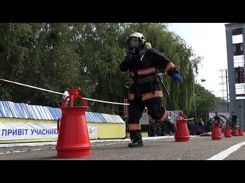 Житомир.info | Новости Житомира: У Житомирі понад 100 вогнеборців змагаються за звання «Найсильнішого пожежного-рятувальника» області