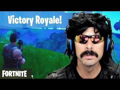 DrDisRespect's First Duo Win on Fortnite with Ninja!