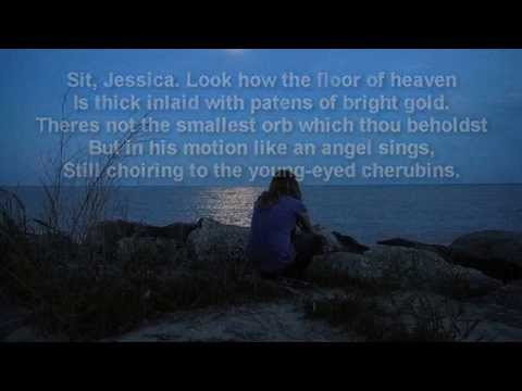 Famous Shakespeare play ~The Merchant of Venice ~ Act 5, Scene 1,