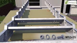 Vidéo: Escalier extérieur Innotec  sans rampe