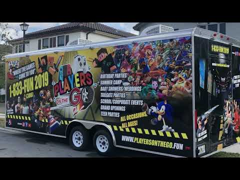 Game Truck / Trailer For Sale Call NOW 786-352-5767 Mobile Video Game Trailer