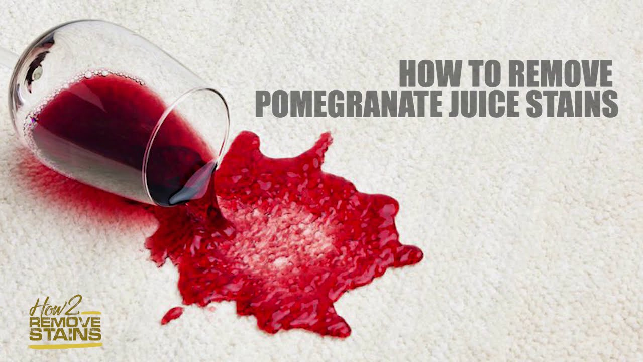 How To Remove Pomegranate Juice Stains Detailed Answer