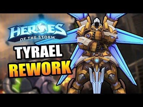 Tyrael (mecha) REWORK! // Heroes of the Storm