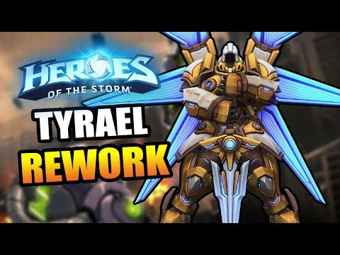 Tyrael (mecha) REWORK! // Heroes of the Storm