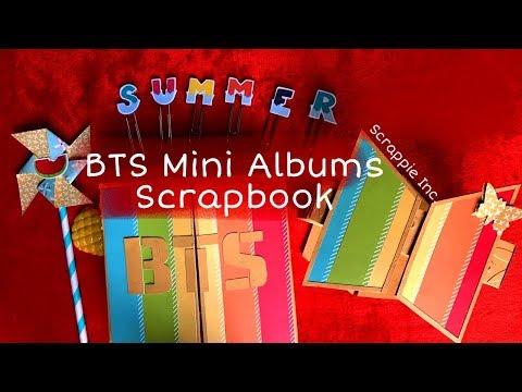 BTS Mini Albums (K-Pop Scrapbook) - Handmade DIY