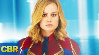 The Problem With Captain Marvel In Avengers Endgame