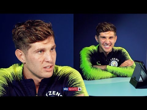 John Stones reacts to managers and teammate's quotes about him 👀 (Guardiola, Southgate, Martinez)