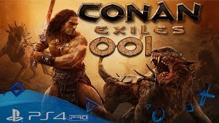 Conan Exiles PS4 🇩🇪 Zensur des Toten 001 Let´s Play Conan Exiles Playstation 4 PVP Server