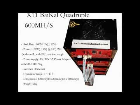 Baikal Quadruple X11 Miner Dash Miner  600MH/s