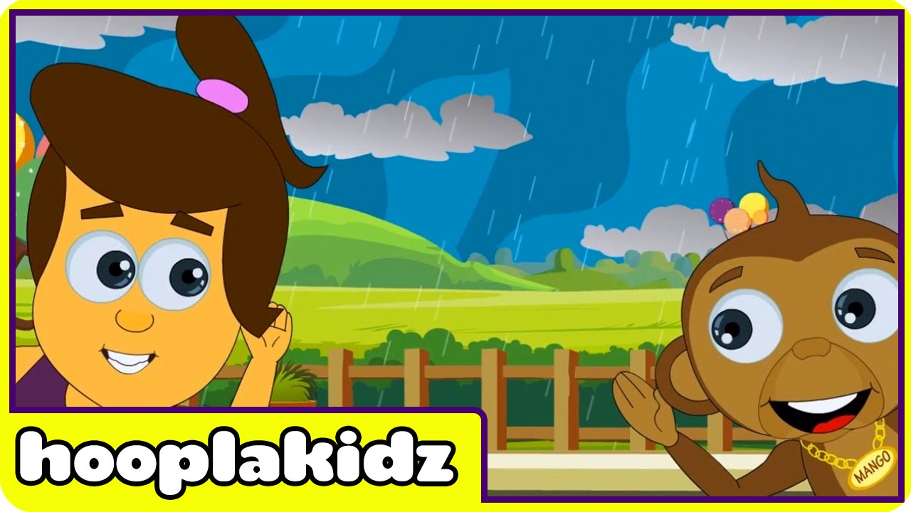 I Hear Thunder Song | HooplaKidz Nursery Rhymes & Kids Songs