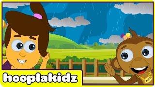 Repeat youtube video I Hear Thunder | Nursery Rhymes | Fun Nursery Rhymes by Hooplakidz