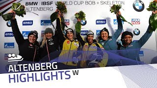 Jamanka celebrates the second gold of the season | IBSF Official