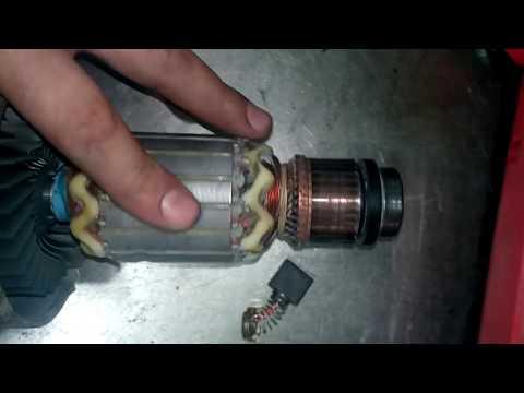 Почему искрят щетки в электроинструменте