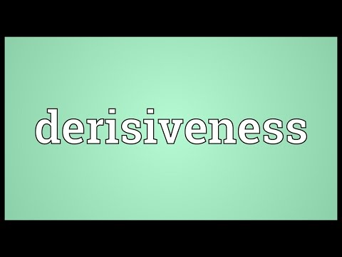 Header of derisiveness