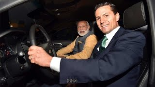 Mexican President drives PM Modi to restaurant, gives OK for NSG