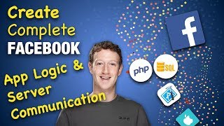 Complete Facebook App in Swift, Xcode and PHP - App Logic & Server Communication - 33