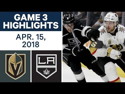 NHL Highlights | Golden Knights vs. Kings, Game 3 - Apr. 15, 2018