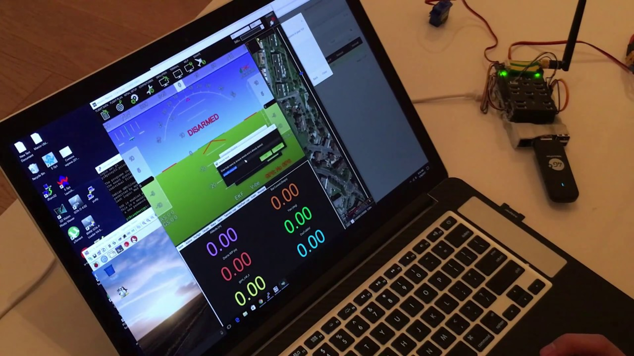 4G (LTE) Telemetry and Control of Pixhawk using Pi3