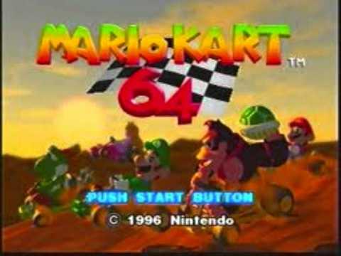 Mario Kart 64 Music- Character Select - YouTube