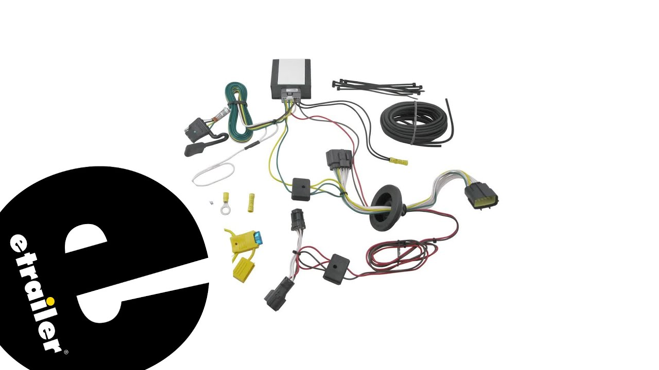 trailer wiring harness installation 2015 kia sportage etrailer com [ 1280 x 720 Pixel ]