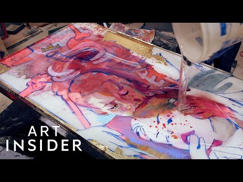 Making 3D Portraits With Paint Cast in Resin | Master Craft